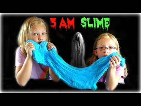DO NOT MAKE A SLIME AT 3 AM !! SO SCARY!! - Magic Box Toys Collector (видео)