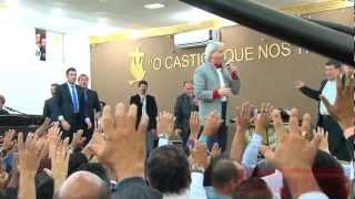 Benny Hinn No 1° Café De Pastores Da UNIPAS Igreja Plenitude Do Trono De Deus 13-02-2013