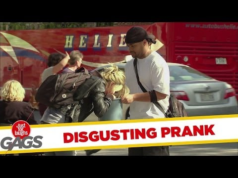 Most Disgusting Puke in the Bucket Prank - Youtube