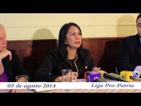 "Video. ""Rueda de prensa antejuicio contra Yassmin Barrios (03 ags 2014)"""