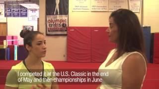Aly Raisman talks Zika, Olympic qualifying