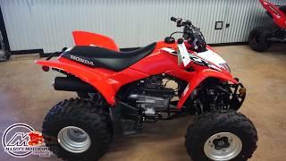 3. 2020 Honda TRX250X in Red at Maxeys in Oklahoma City