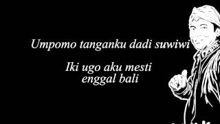 Didi Kempot Layang Kangen Lyric Campursari