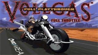 VOLLGAS - Full Throttle [german] complete Playthrough