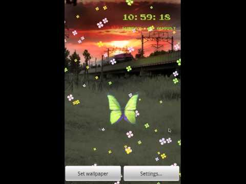 Video of train live wallpaper