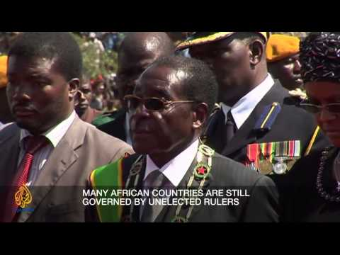 union - As African governments celebrate a golden anniversary of unity, has it really served its people? Inside Story, with presenter Stephen Cole, discusses with gu...