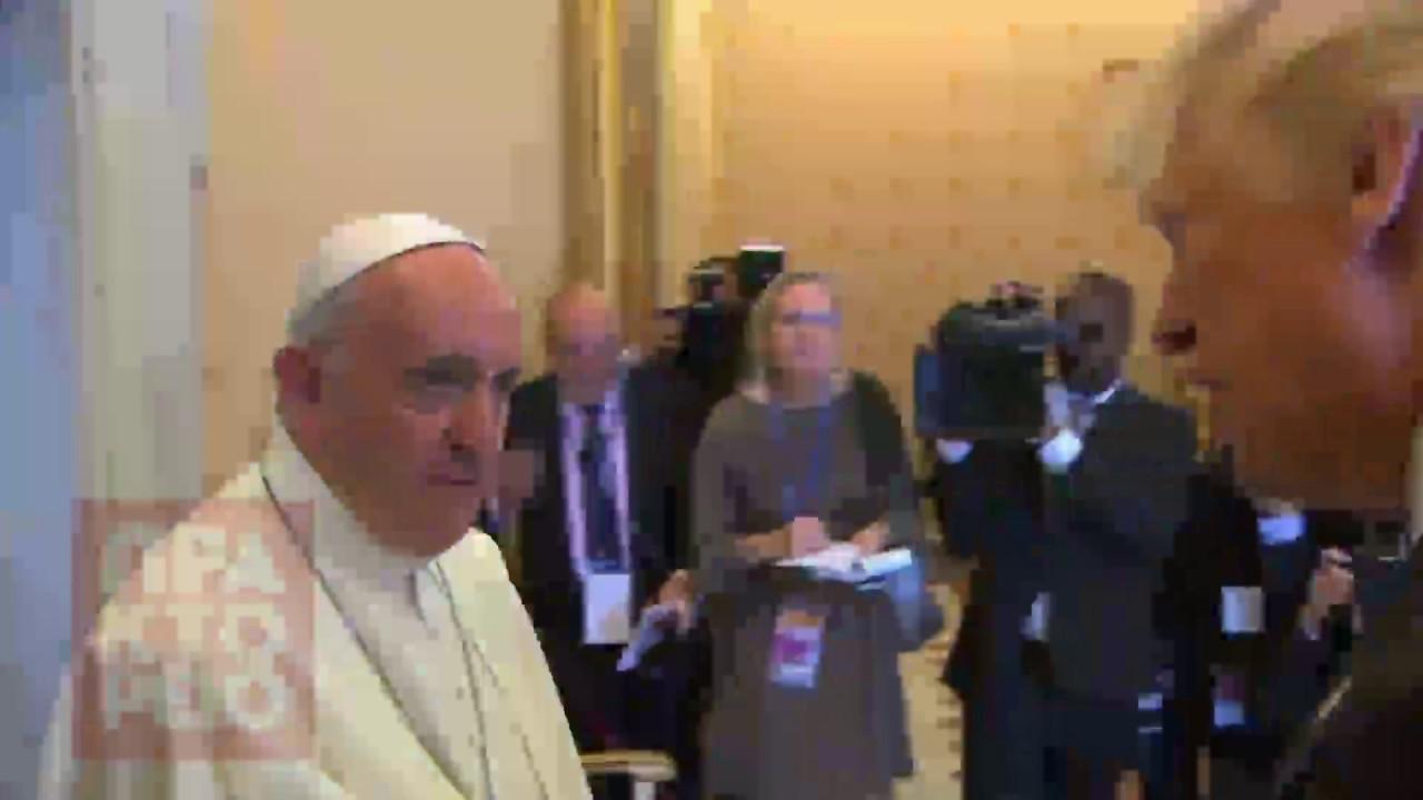 Συνάντηση του πάπα Φραγκίσκου με τον Ντόναλντ Τραμπ