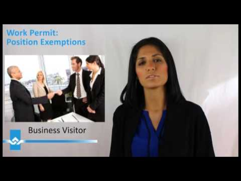 Canada Work Permit Exemptions Video