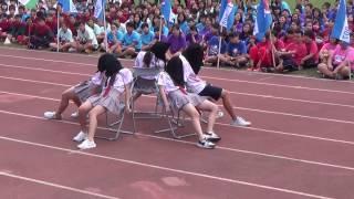 新化國中105學年度校慶運動會-新化高中熱舞表演