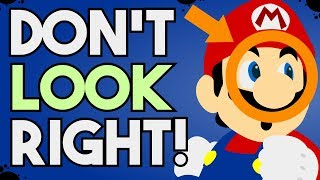 """How to Make A """"Backwards Only"""" Level in Super Mario Maker 2!"""