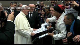Paavin viesti maailman köyhien päivänä