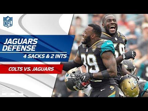 Video: Jacksonville Defense Takes Down Indy w/ 4 Sacks & 2 INTs! | Colts vs. Jaguars | Wk 13 Player HLs