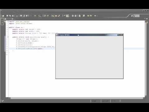 "How to make 3D games in Java? Tutorial Episode 1 – ""Window preparation"""