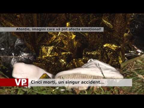 Cinci morți, un singur accident…