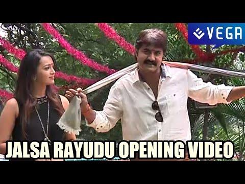 Jalsa Rayudu Movie Opening Video