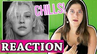 Fall In Line - Christina Aguilera ft Demi Lovato | REACTION