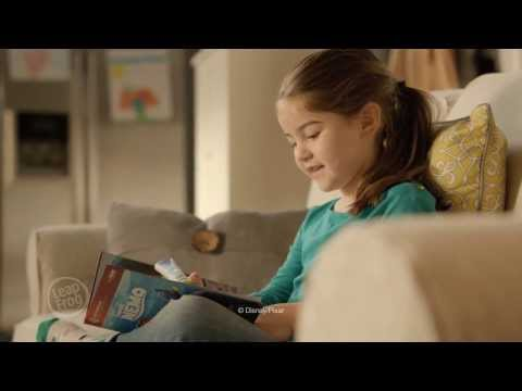 Naomi is the star in this new commercial for LeapFrog