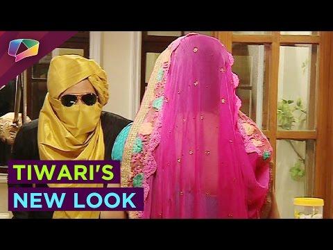 Tiwari's new look in Bhabhiji Ghar Pe Hai
