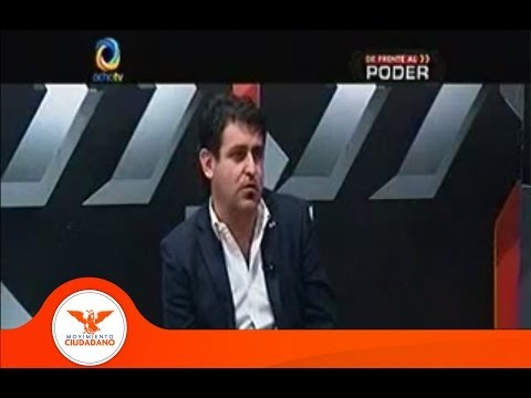 Hugo Luna programa De Frente al Poder