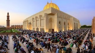 Time Lapse - Iftar at Sultan Qaboos Grand Mosque