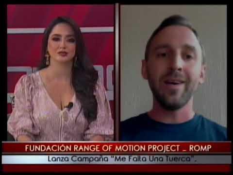 Fundación Range of Motion Project _ Romp lanza campaña Me falta una tuerca