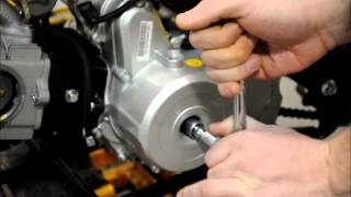 10. How to Ajdust the Valves on a Chinese ATV Engine | Q9 PowerSports USA