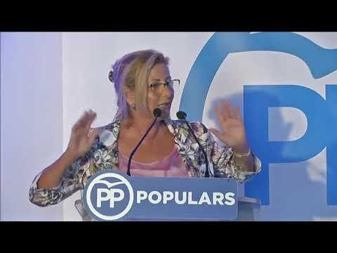 Intervenció de la presidenta del PP Menorca, Coia Sugrañes