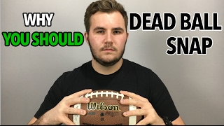 In this video, LF talks about the dead ball and the related pros and cons. Although it is not fro everyone, the dead ball snap has become popular for a reason. Frequently Asked Questionshttps://www.youtube.com/watch?v=M4GGXub2qSoMy Channel: youtube.com/linemanfootballytWebsite: http://www.linemanfootball.comFacebook: https://www.facebook.com/LinemanFootball/?ref=aymt_homepage_panelInstagram: https://www.instagram.com/linemanfootball/Twitter: https://twitter.com/LinemanFootballInquiries: linemanfootball@gmail.comOR tony@linemanfootball.com