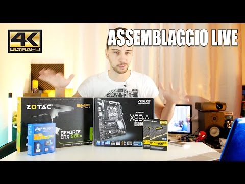 LIVE ASSEMBLAGGIO PC DA GAMING/WORKSTATION DA 3K EURO