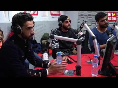 Le groupe Adrenaline dans le Morning de Momo sur HIT RADIO - 04/03/15
