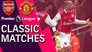 Video Arsenal v. Manchester United | PREMIER LEAGUE CLASSIC MATCH | 1/21/07 | NBC Sports MP3, 3GP, MP4, WEBM, AVI, FLV April 2019