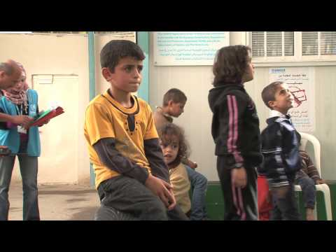Jordan: New Refugee Registration Centre Opens
