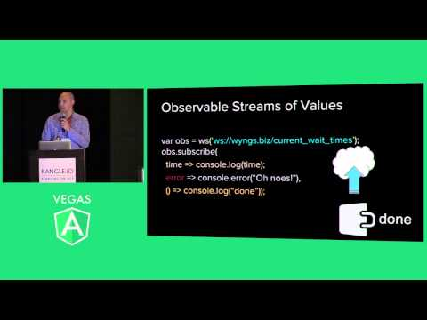 Keynote: Beyond ngResource: The future of data in Angular
