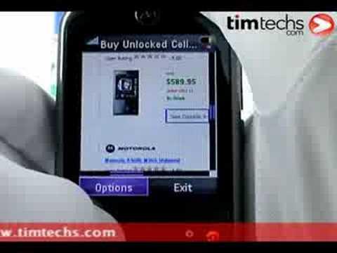 Motorola ZN5 Video Review TIMTECHS.COM