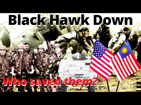 Black Hawk Down – The Untold Story of Malaysian Army Who Rescued Injured American Soldiers [BM SUB]