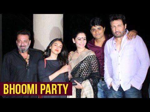 Sanjay Dutt's Bhoomi Wrap Up Party In Mumbai | San