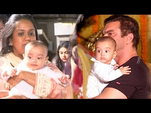 Salman Khan's Nephew Ahil Steals The Limelight At