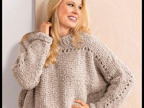 Связать Пуловер Спицами для Девушки - модели - 2019 / Knit Pullover Knitting needles for … видео
