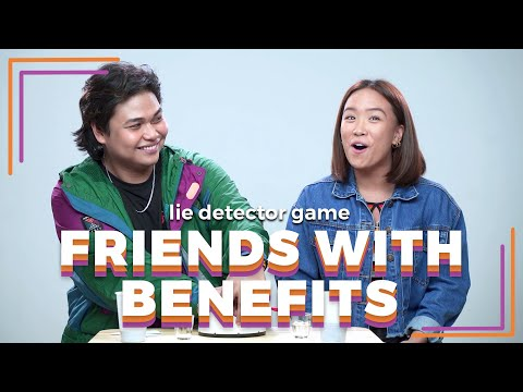 Friends With Benefits Play A Lie Detector Drinking Game | Filipino | Rec•Create
