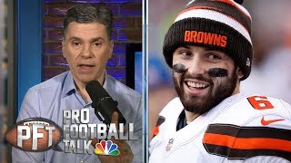 Baker Mayfield won't play favorites with OBJ, receivers | Pro Football Talk | NBC Sports