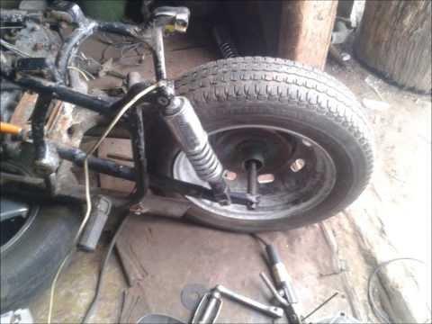 Широкое колесо на иж