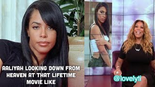 Twitter DRAGS Wendy Williams & Lifetime over the Aaliyah Movie #LifetimeBeLike - YouTube