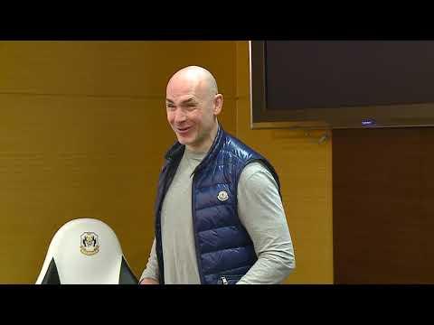 Дмитрий Юшкевич стал лектором тренерского семинара в Тюмени