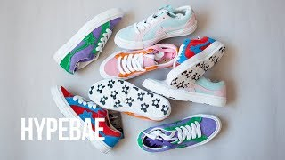 Tyler, the Creator's Two-Tone Converse GOLF Le FLEUR* One Stars Unboxing