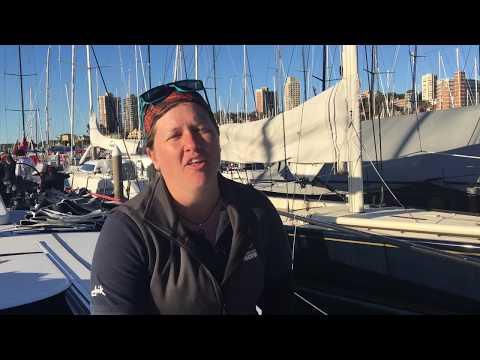 Lisa Blair discusses sailing around Antarctica
