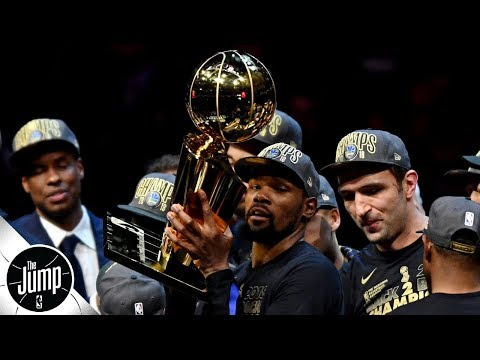 Video: Warriors became alarmed when Kevin Durant didn't feel joy winning rings - Brian Windhorst | The Jump