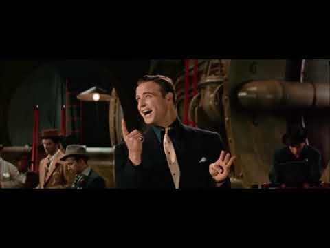 Marlon Brando - Luck Be a Lady (from 'Guys and Dolls' (1955))