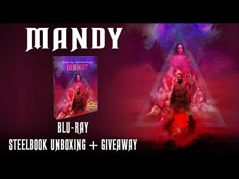 MANDY - BLURAY STEELBOOK UNBOXING + GIVEAWAY!