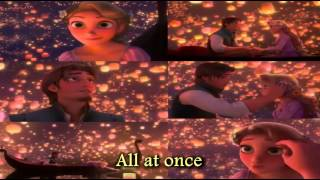 So this is my first video this summer ^_^ i thought of starting with a disney song from the movie Tangled since my last lyrics video of let it go from the mo...