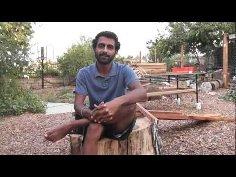 """Food Education Playground"" at LA's only Urban Permaculture Farm"